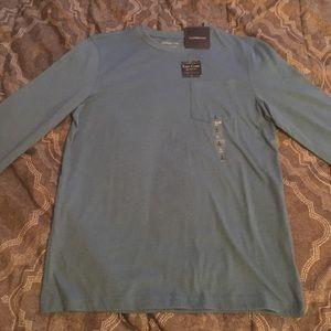 New, long sleeve, blue, Croft & Borrow shirt!